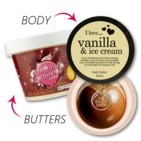 Δείτε τα έξι πιο αγαπημένα μας body butters