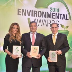 2 Μεγάλες Διακρίσεις στα Environmental Awards 2014 για την Oriflame