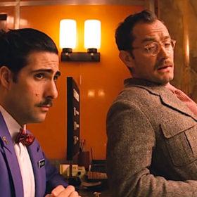 «The Grand Budapest Hotel»: Νέες σκηνές από την ταινία