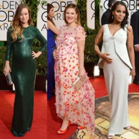Χρυσές Σφαίρες 2014: Οι πιο καλοντυμένες μέλλουσες μανούλες