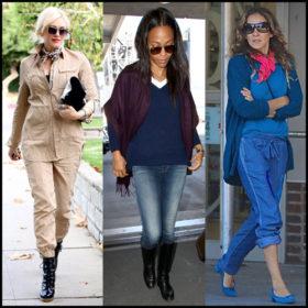 Φουλάρι: Πώς το φόρεσαν οι celebrities