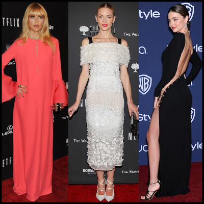 0c0d814542bb Golden Globes  Τι έβαλαν οι σταρ στα after parties - Celebrity ...