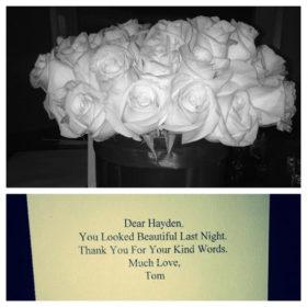 H κριτική για το φόρεμα των 10.000 δολαρίων της Hayden Panettiere και τα λουλούδια του Tom Ford