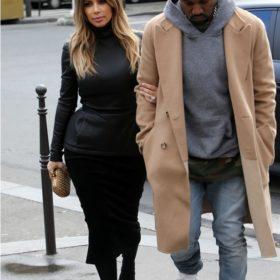 Spotted: Η Kim Kardashian και ο Kanye West στο Παρίσι