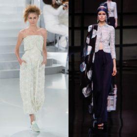 Haute Couture: Τι έδειξαν Chanel και Armani Prive στο Παρίσι