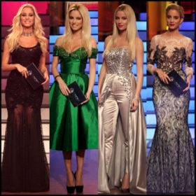 Showtime: Τα καλύτερα looks της Δούκισσας Νομικού στο DWTS4