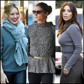 Γκρι πουλόβερ: Πώς να το φορέσετε τις κρύες μέρες του χειμώνα
