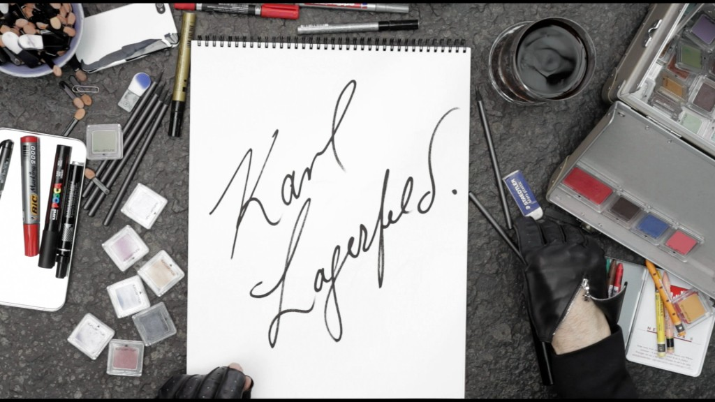 karl lagerfeld sketches his life (1)