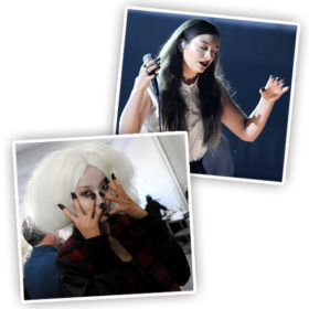 NYFW report: Το goth μανικιούρ της Lorde κατέλαβε την πασαρέλα