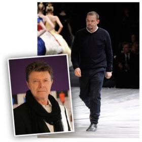 Alexander McQueen & David Bowie: Η σπάνια τηλεφωνική συνομιλία των δύο αντρών