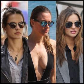 Ποια γυαλιά ηλίου προτιμούν οι celebrities;
