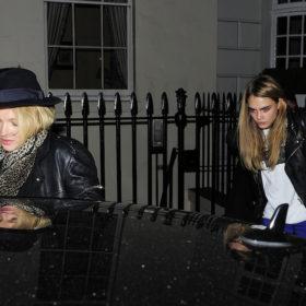 Kate Moss + Cara Delevingne = F.F.E