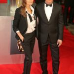 Brad Pitt & Angelina Jolie Arrive At The 2014 EE BAFTA Awards, London.