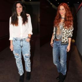 Μαίρη Συνατσάκη vs Κατερίνα Στικούδη: Ποια φόρεσε το boyfriend jean καλύτερα;