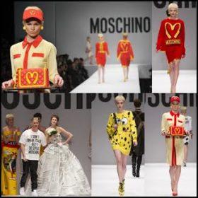 Fashion Review: Η ανατρεπτική και χιουμοριστική συλλογή του Jeremy Scott για τον Moschino