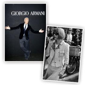 Giorgio Armani vs Anna Wintour: «Αυτή… σνόμπαρε την επίδειξή μου»