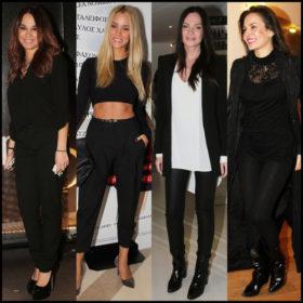 Πώς συνδυάζουν οι Ελληνίδες σταρ το μαύρο παντελόνι;