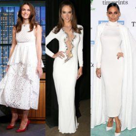 White is beautiful: Δείτε τις αγαπημένες μας εμφανίσεις σε λευκό