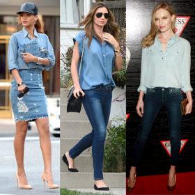 Fashion απορία: «Πώς μπορώ να φορέσω τζιν με τζιν»