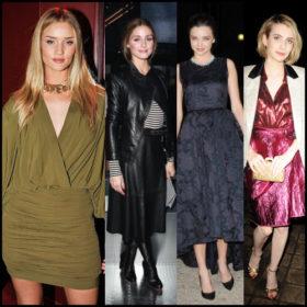 Front Row: Ποιες celebrities είδαμε στην Εβδομάδα Μόδας στο Παρίσι;