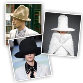 Το φαινόμενο Pharrell Williams: Το τεράστιο καπέλο του που εξελίσσεται σε must – have αξεσουάρ
