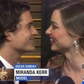 Όσκαρ 2014: Το γλυκό στιγμιότυπο ανάμεσα σε Miranda Kerr και Orlando Bloom