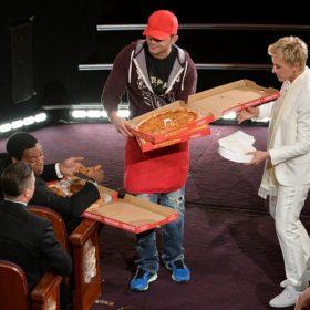 Όσκαρ 2014: Tι φιλοδώρημα πήρε ο άνθρωπος που σέρβιρε pizza στο μισό Hollywood;