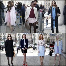Front Row: Όλοι οι stars βρέθηκαν στο fashion show του Oίκου Miu Miu