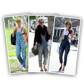 Micro Trend: Πώς φοράνε οι celebrities την τζιν φόρμα