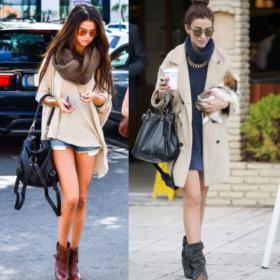 Ελένη Φουρέιρα vs. Selena Gomez: Ποια φόρεσε τα ankle boots καλύτερα;