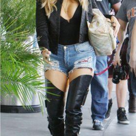 Spotted: Khloe Kardashian