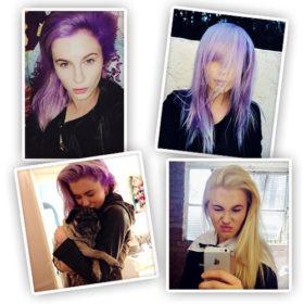 Το λιλά είναι το νέο ξανθό: Ακόμα μια star έκανε τα μαλλιά της μοβ