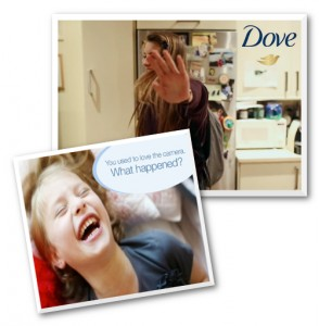 dove camera shy cover