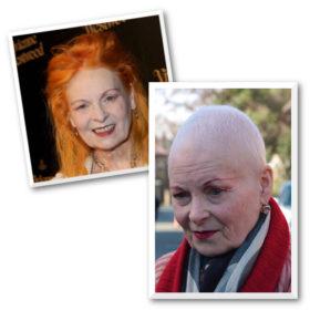 Breaking news: Η Vivienne Westwood ξύρισε το κεφάλι της