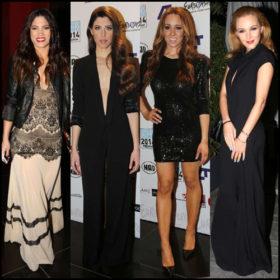 Eurovision 2014: Τι φόρεσαν οι Ελληνίδες stars στoν χθεσινό ελληνικό τελικό;