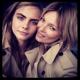 Τι ετοιμάζουν Cara Delevingne και Kate Moss;