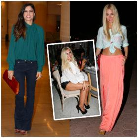 Πώς φόρεσαν οι Ελληνίδες celebrities την πουκαμίσα;