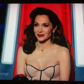 Τι φόρεσε η Δέσποινα Βανδή στο τρίτο επεισόδιο των battle rounds του The Voice;