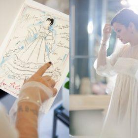 H Lily Allen έχασε το -αξίας 200.000 λιρών- Chanel couture νυφικό της