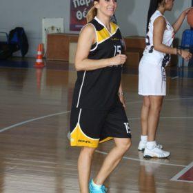 Έλλη Κοκκίνου και Δέσποινα Καμπούρη: Έπαιξαν μπάσκετ για φιλανθρωπικό σκοπό