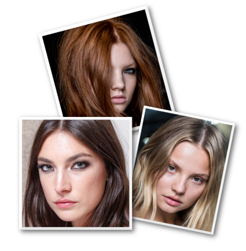 blonde brunette redhead hair color trends 2014