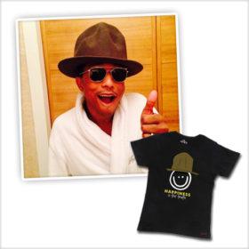 Pharrell Williams: Τι σχεδίασε για την Παγκόσμια Ημέρα Ευτυχίας;