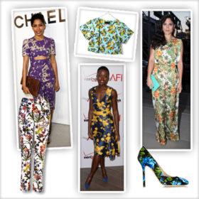 Floral: Bάλτε τα λουλούδια στα ρούχα σας όπως οι celebrities