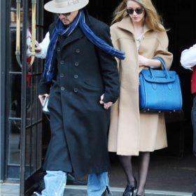 Spotted: Το πιο stylish και πολυσυζητημένο ζευγάρι, Johnny Depp και Amber Heard, στη Νέα Υόρκη