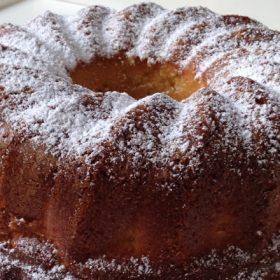 Cake βανίλιας