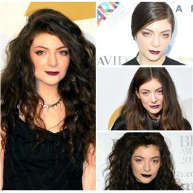 H Lorde και η αγάπη της για τα κραγιόν