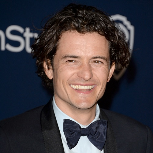 Orlando Bloom Walk of Fame star cover