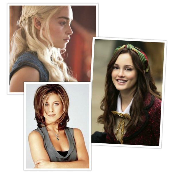 tv hair icons