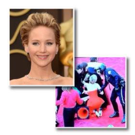 Όσκαρ 2014: Δείτε τη Jennifer Lawrence να πέφτει (ξανά)