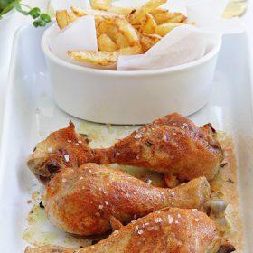Κοτόπουλο με καπνιστή πάπρικα